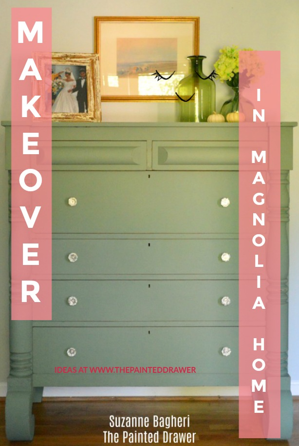 Empire Dresser Makeover in Joanna Gaines Magnolia Home Paint