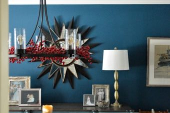 Dining Room Wagon Wheel Chandelier