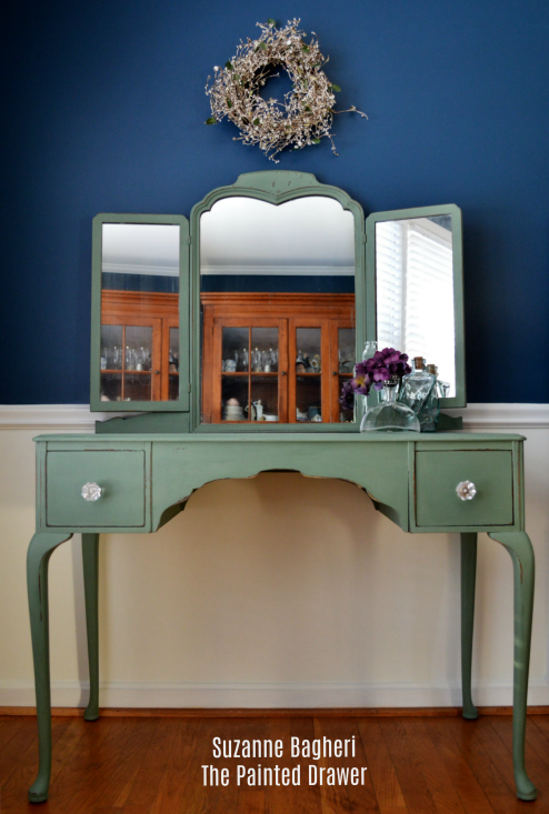 Magnolia Home Olive Grove Desk and Mirror Makeover