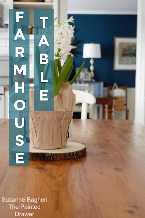 Refinish a Farmhouse Table