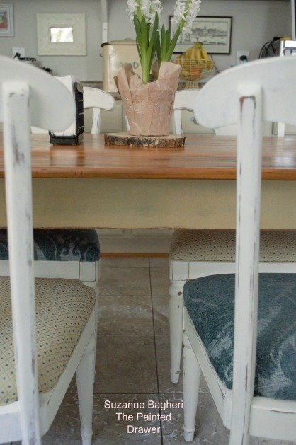 Hampton's Farmhouse Table Refinished