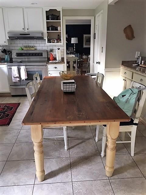 Farmhouse Table before