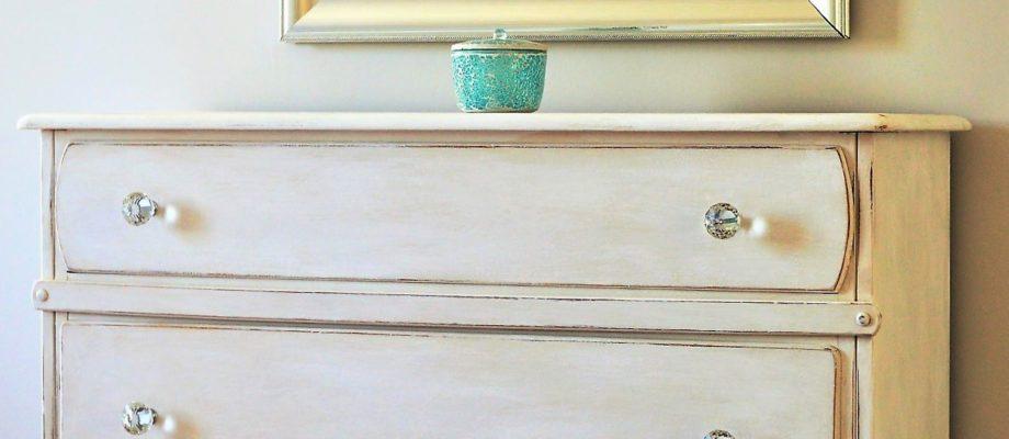 Basement Trash to Class – A Dresser Makeover
