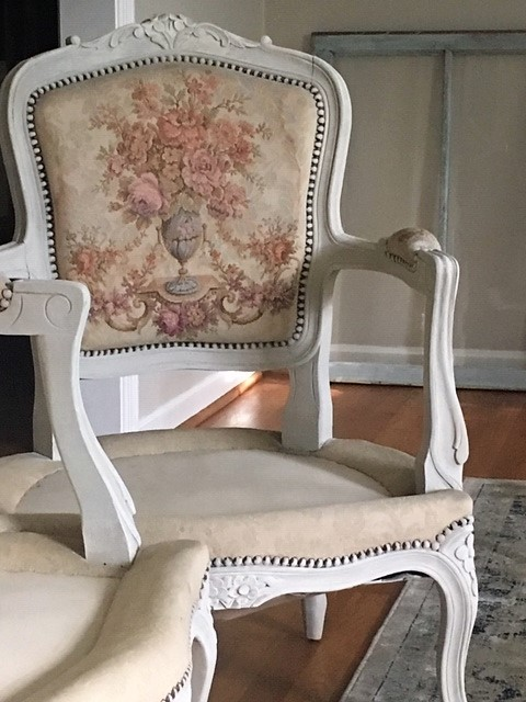A Pair of French Chairs Get a New Look