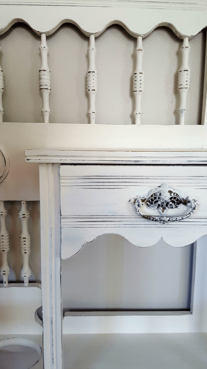 Antique Hall Tree Makeover Before And After
