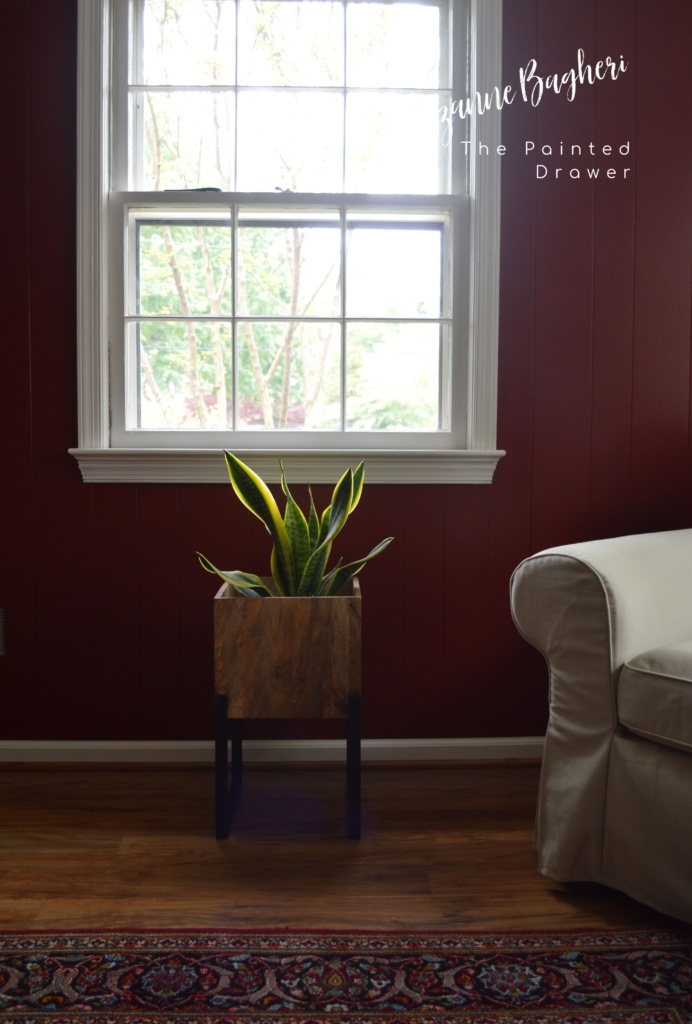 Our Home Office Makeover Update: Behr Red Pepper Walls with New Pergo Flooring