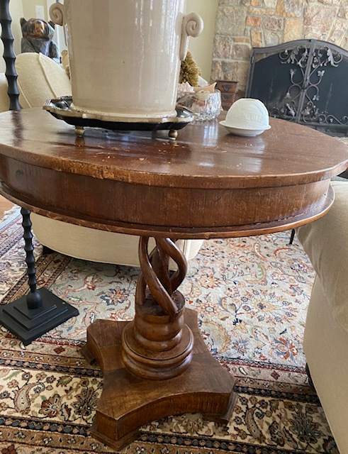 Favorite Find Monday – Twisty Table