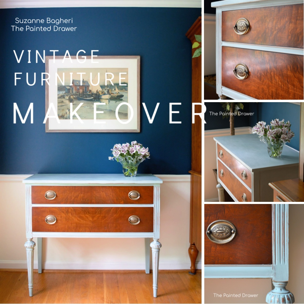Burled Wood Chest – Before and After