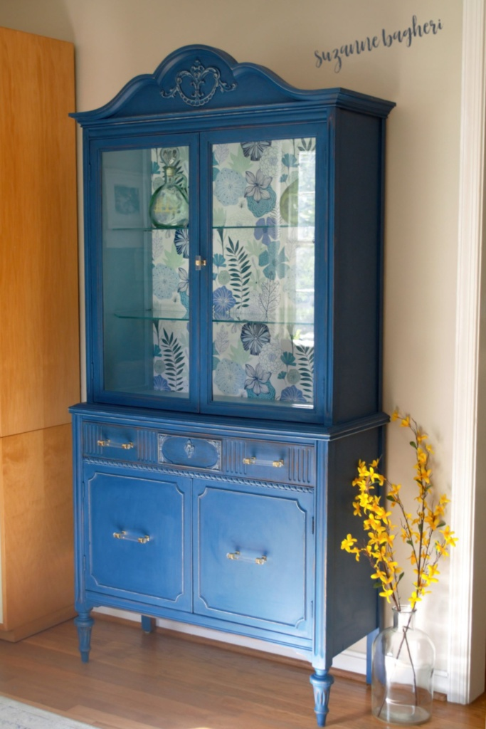 Vintage Cabinet in Shasta Lake by Behr Furniture Flip: Before and After