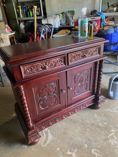Favorite Find Monday – Old and Ornate Cabinet