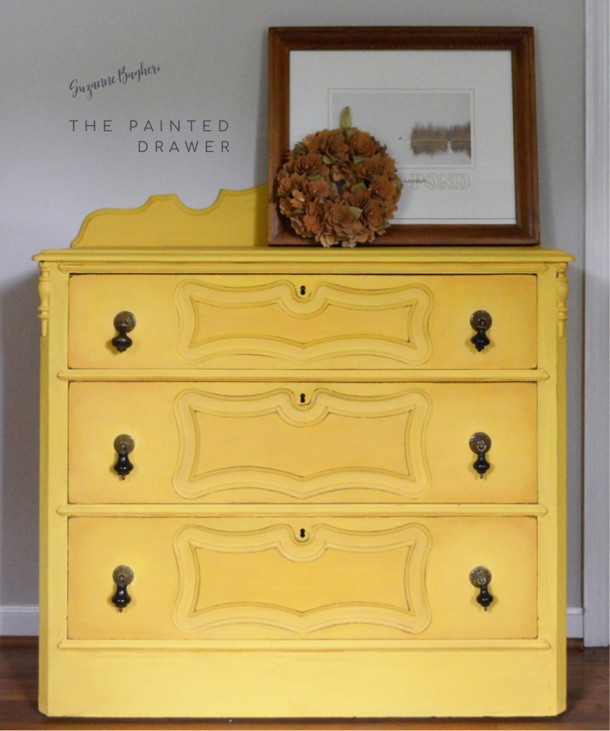 Cottage Yellow Dresser