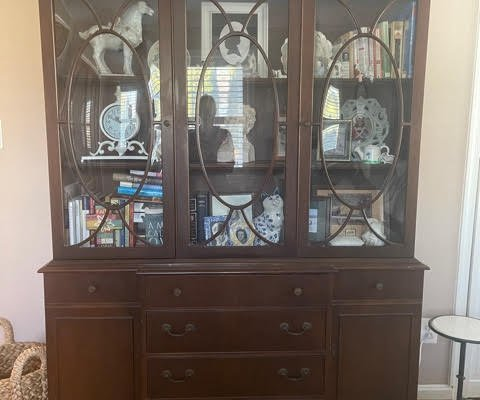 China Cabinet Makeovers!